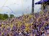 Tifo sfeeracties bij voetbalwedstrijden organiseer je simpel met de gele werplinten van Partyvuurwerk