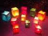 Candle bags geven extra sfeer op de tafel in uw tuin of op het terras