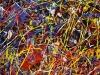 Mooie sfeeractie bij voetbalwedstrijd met multicolour werplinten. Goedkoop online te bestellen bij Partyvuurwerk