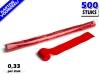 Rode werplinten voor het creëren van tifo en sfeer bij voetbalwedstrijden en evenementen. Kartonvoordeel per 500 stuks op Partyvuurwerk