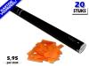 Bestel de goedkoopste 80cm confetti shooters met oranje brandvrije papieren confetti bij Partyvuurwerk. Eenvoudig online bestellen en snel geleverd!