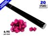 Laagste prijs! Bestel 80cm streamer shooters met roze brandvrije streamers zeer voordelig online bij Partyvuurwerk.