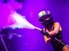 CO2 effecten op een podium of tijdens evenementen met een CO2 gun