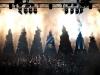 CO2 effecten op een podium tijdens een grote show, festival of evenement