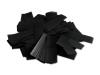 Zwarte slowfall brandvrije papieren confetti