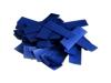 Brandvrije slowfall papieren confetti in de kleur donkerblauw