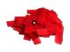 Slowfall confetti in de kleur rood, gemaakt van brandvrij papier