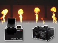 Stage Flame machines voor podiumvlammen huur je  eenvoudig op Partyvuurwerk.nl