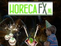 Horecabedrijven bestellen eenvoudig ijsfonteinen, sterretjes en andere horecavuurwerk via HorecaFX.nl, een onderdeel van Xena Vuurwerk BV