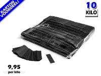 Zwarte slowfall papieren confetti bestel je voordelig in bulkverpakking bij Partyvuurwerk