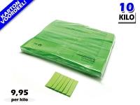 Lichtgroene slowfall papieren confetti bestel je voordelig in bulkverpakking bij Partyvuurwerk