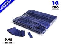 Donkerblauwe slowfall papieren confetti bestel je voordelig in bulkverpakking bij Partyvuurwerk