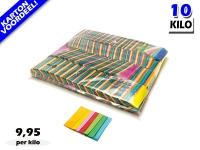 Multicolour slowfall papieren confetti bestel je voordelig in bulkverpakking bij Partyvuurwerk