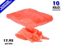 Oranje UV Fluo slowfall papieren confetti bestel je voordelig in bulkverpakking bij Partyvuurwerk