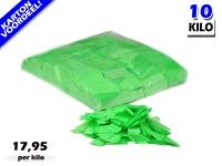 Groene UV Fluo slowfall papieren confetti bestel je voordelig in bulkverpakking bij Partyvuurwerk
