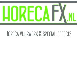 HorecaFX is een groothandel in horecavuurwerk waar horecabedrijven onder andere diverse soorten sterretjes, ijsfonteinen en regenboogvlammen kunnen bestellen