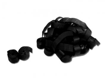 Partyshooter gevuld met zwarte papieren streamers. Met deze shooters schiet je eenvoudig de papierlinten hoog de lucht in