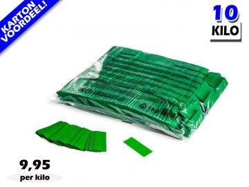 Donkergroene slowfall papieren confetti bestel je voordelig in bulkverpakking bij Partyvuurwerk