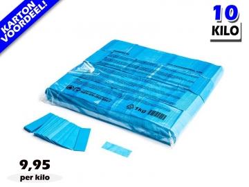 Lichtblauwe slowfall papieren confetti bestel je voordelig in bulkverpakking bij Partyvuurwerk