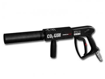 CO2 gun voor CO2 mistpluimen op podia en tijdens evenementen