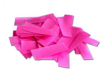 Brandvrije papieren slowfall confetti in de kleur roze
