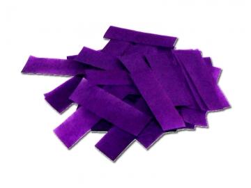 Paarse slowfall confetti van brandvrij papier