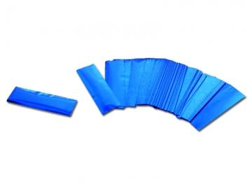 Brandvrije blauwe metallic confetti