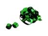 Groene metallic streamers