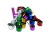 Multicolour metallic streamers
