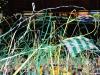 Lichtgroene werplinten voor een mooie tifosfeer op feesten, evenementen en bij sportwedstrijden