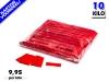 Rode slowfall papieren confetti bestel je voordelig in bulkverpakking bij Partyvuurwerk