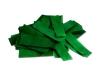 Donkergroene papieren slowfall confetti verpakt in bulk bag van 1 kilogram