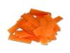Oranje papieren slowfall confetti verkrijgbaar per kilogram