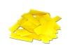 Gele slowfall confetti gemaakt van brandvrij papier