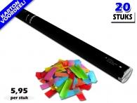 De voordeligste 80 centimeter confetti shooters bestel je online per doos op Partyvuurwerk. Nergens goedkoper!