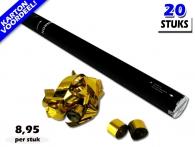 Streamer shooters 80cm met metallic kleuren vind je het goedkoopst bij Partyvuurwerk. Makkelijk online bestellen en snel in huis!