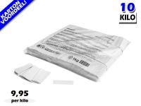 Witte slowfall papieren confetti bestel je voordelig in bulkverpakking bij Partyvuurwerk
