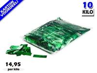 Groen metallic slowfall papieren confetti bestel je voordelig in bulkverpakking bij Partyvuurwerk