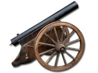 Kanon voor het afvuren van confetti en streamers of harde kanllen door middel van loud reports