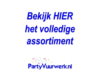 De beste en goedkoopste streamer shooters koop je eenvoudig online op Partyvuurwerk.nl