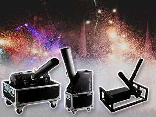 De confetti van Partyvuurwerk is geschikt voor confetti kanonnen, blowers en swirl fans.